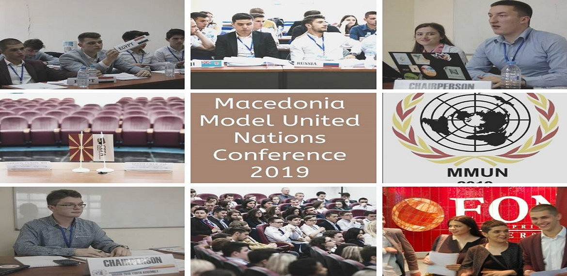 """Conference: Macedonia Model of the United Nations 2019"""