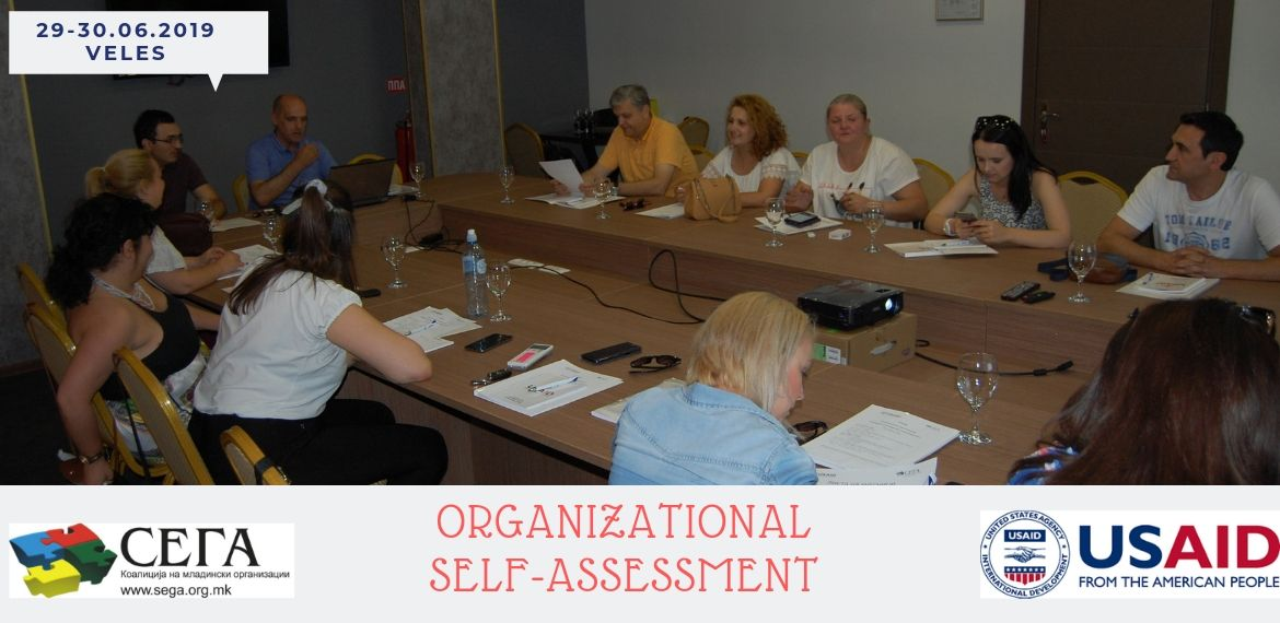 Coalition of Youth Organizations SEGA held a Organizаtional Self-assessment