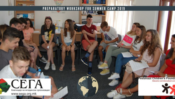 Preparatory Workshop held for Summer Camp 2019 in Trogen, Switzerland