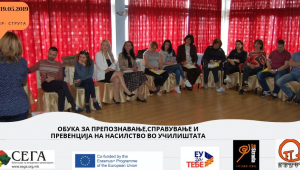 "Training as Part of the Project ""Recognize, Prevent and Apply Anti-Violence Measures"""