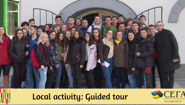 "As Part of The Project ACHIVE Was Held A Local Activity ""Guide Tour"""