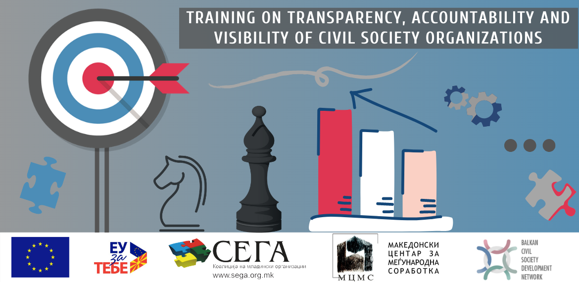 "Training on ""Transparency, Accountability and Visibility of Civil Society Organizations"""