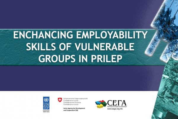 Enhancing employability skills of vulnerable groups in Prilep